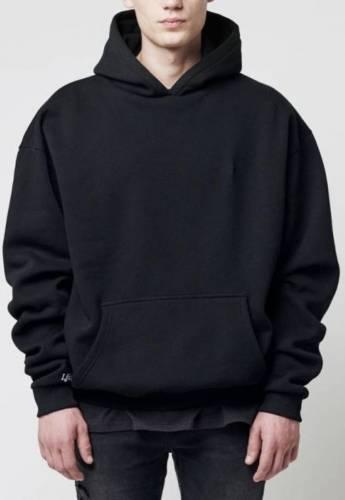 LFDY oversized Hoodie schwarz