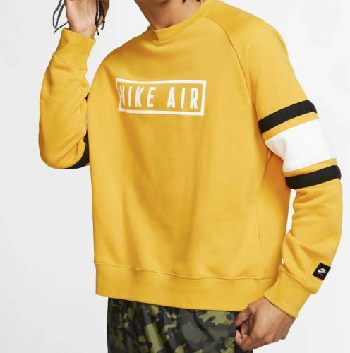 Nike Air oversized Pullover gelb