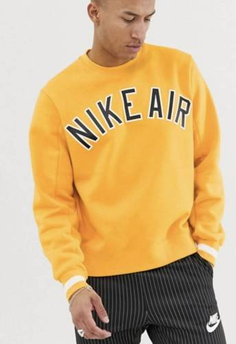 Nike Air Pullover gelb