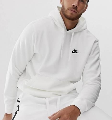 Nike Fleece Hoodie weiß