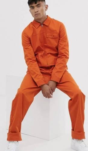 Overall Orange Gefängnis