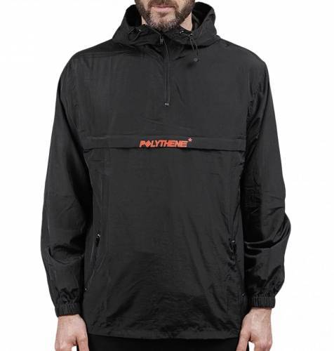 Polythene Windbreaker schwarz