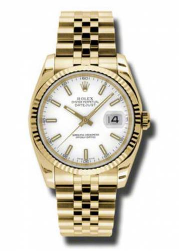 Rolex Datejust White Dial
