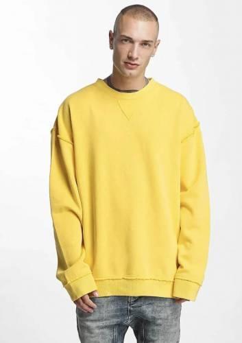 Urban Classics Pullover gelb oversized
