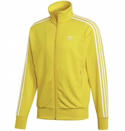 Adidas Firebird Jacke gelb