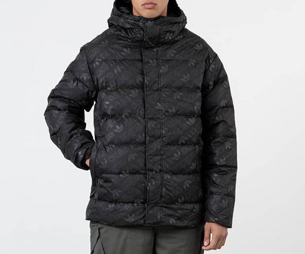 Adidas Puffer Jacke All Over Print