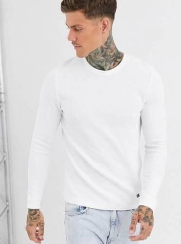 Bershka Pullover weiß