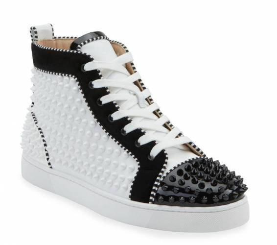 Christian Louboutin Spikes 2 Leather High