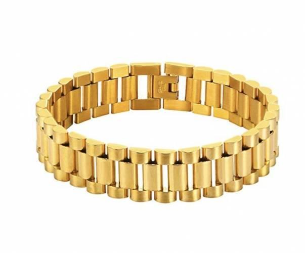 Gliederarmband Gold Modeschmuck