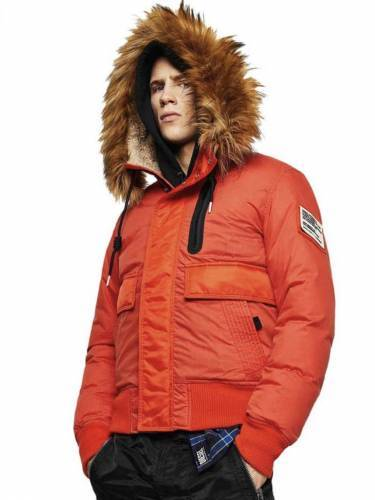 Herren Winterjacken Trend 2020 orange