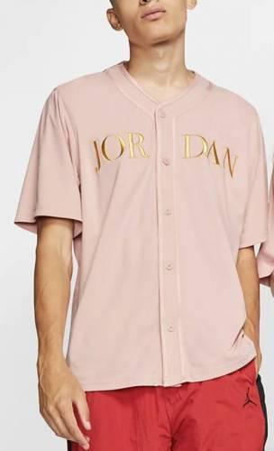 Jordan Baseball Hemd rosa