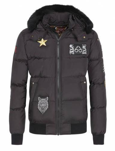 Moose Knuckles Colinton Bomber Patches