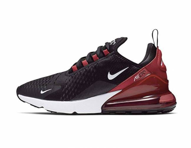Nike Air Max 270 black white university red anthraci