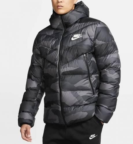 Nike WInterjacke Camouflage Trend 2020