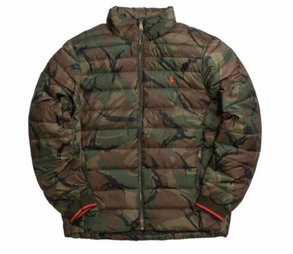 Polo Ralph Lauren Daunenjacke Camouflage
