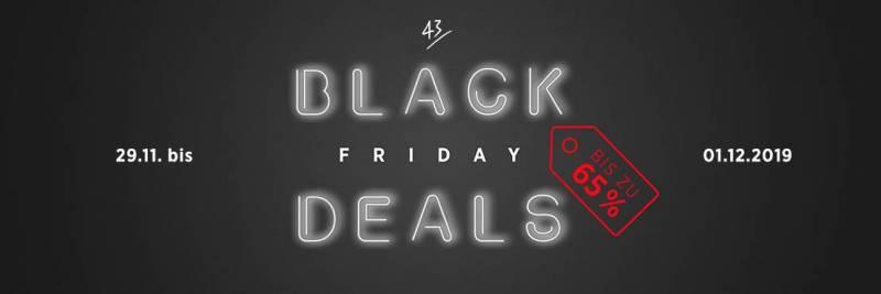 43Einhalb Black Friday Deals