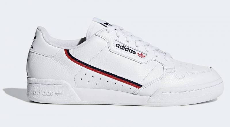 Adidas Continental Sneaker weiß Classic