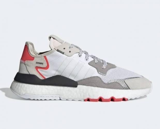 Adidas Nite Jogger grau rot