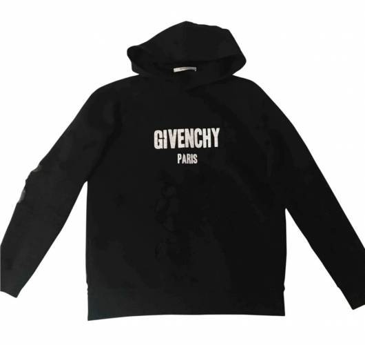 Eno Sauba Givenchy Hoodie Distressed