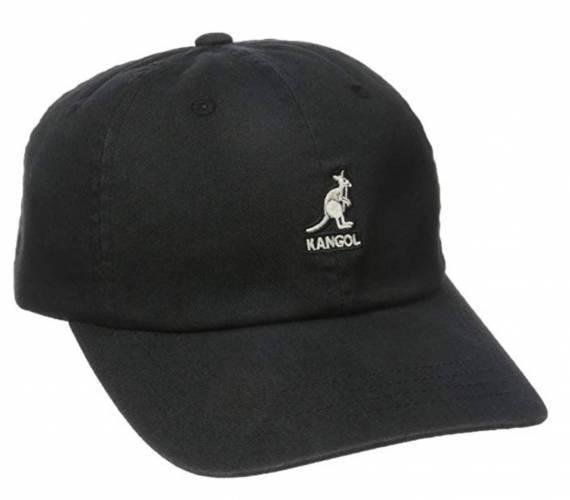 Kangol Cap schwarz washed baseball