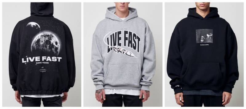 Live Fast Hoodies aktuell