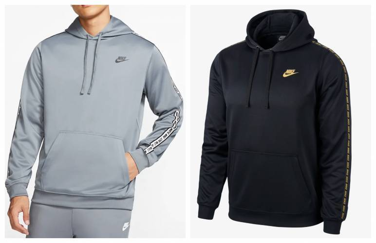 Nike Hoodie Seitenstreifen