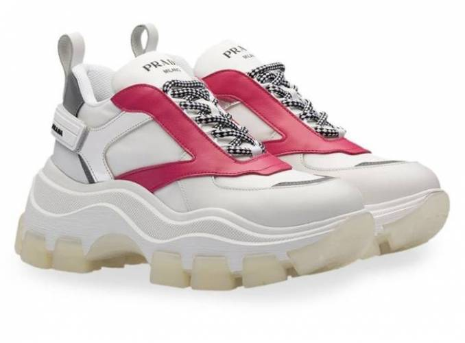 Prada Milano Sneakers Chunky