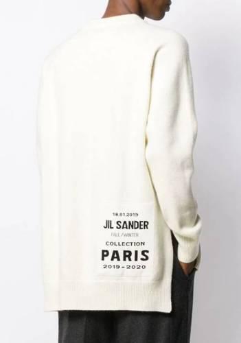 Raf Camora Sweater Weiss Hinten