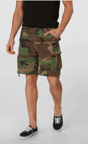 Summer Cem Camouflage Shorts
