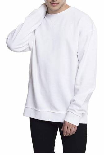 Urban Classics Oversized Open Edge Pullover