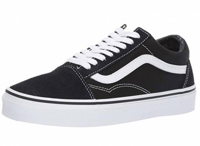 Vans Old Skool Unisex Black WHite