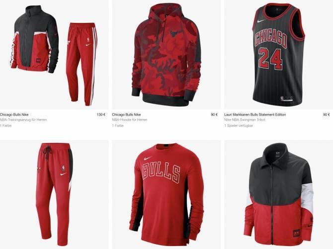 Chicago Bulls Klamotten kaufen