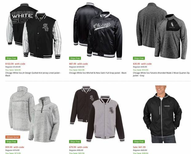 Chicago White Sox Jackets overview
