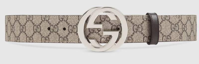Gucci Gürtel beige