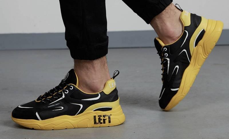 Leandro Lopes Sneaker gelb