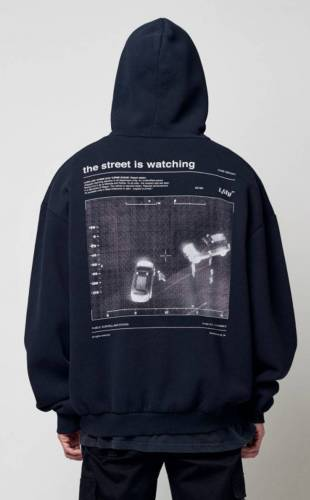 Luciano Hoodie the street is watching back