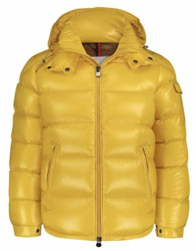 Lil Lano Moncler Winterjacke gelb