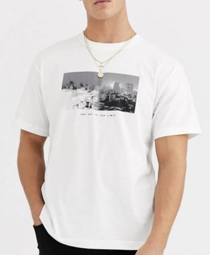 Pull and Bear City T-Shirt