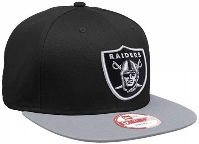 Raiders Snapback Black grey