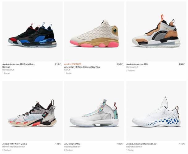 Air Jordan Sneaker Overview