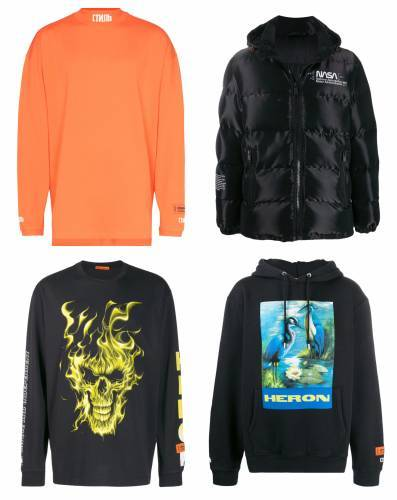 Heron Preston Sale