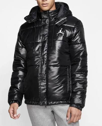 Jordan Puffer Jacke glänzend