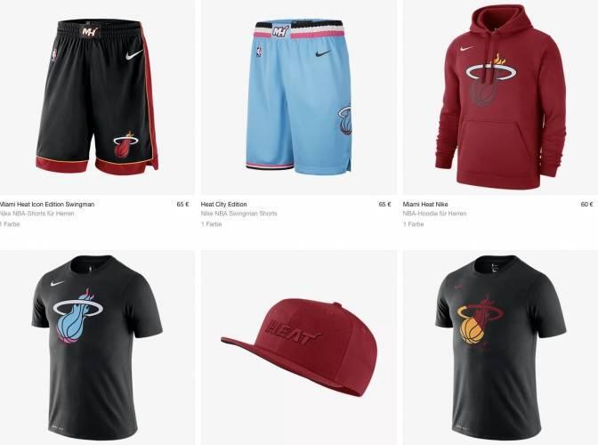Miami Heat Nike Kleidung