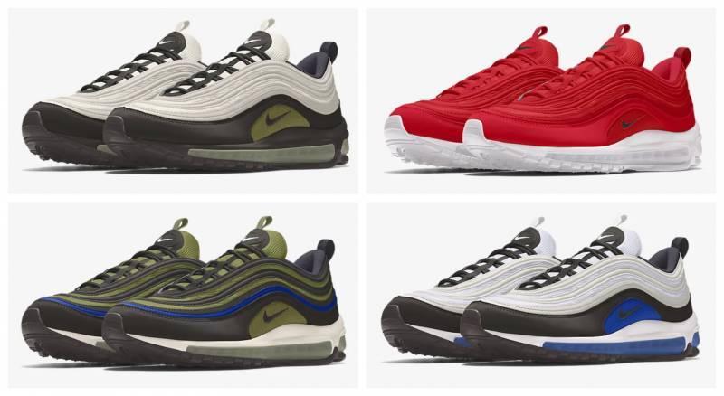 Nike Air Max 97 selbst gestalten