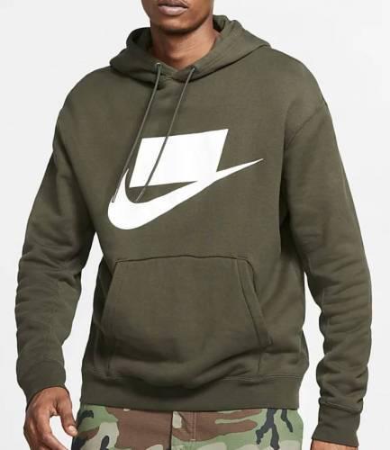 Nike Hoodie Logo Viereck