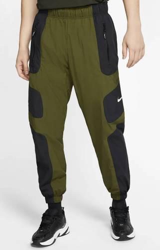 Nike Jogginghose olive schwarz