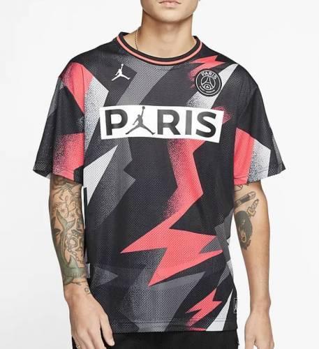 Paris T-Shirt rot Zacken