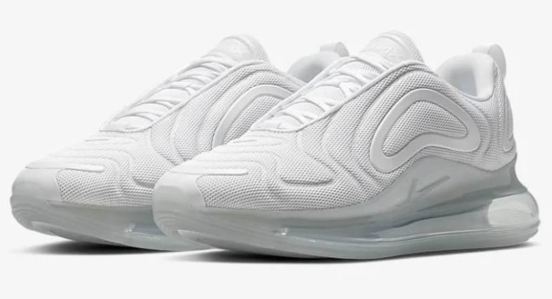 Samra Nike Schuhe weiß