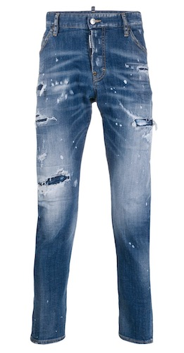 Farid Bang Jeans Dsquared2 ähnlich