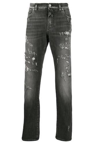 Farid Bang Jeans grau